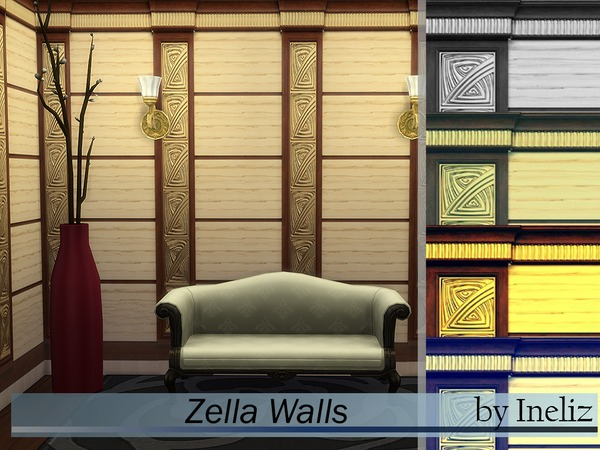 Zella Walls by Ineliz