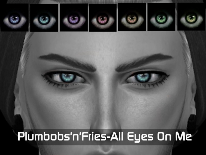 [All Eyes On Me] Eyemask BY Plumbobs n Fries
