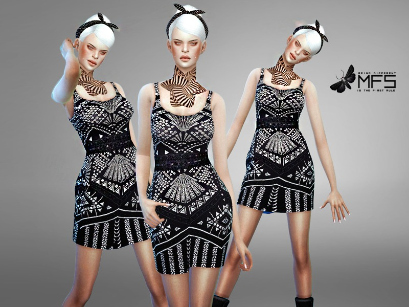 MFS Cece Dress  BY MissFortune