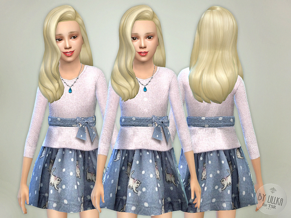 Kitty Knit Dress by lillka