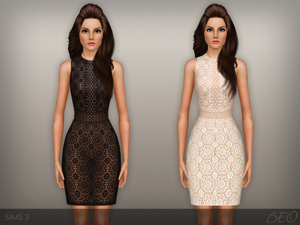 Lace transparent dress by BEO
