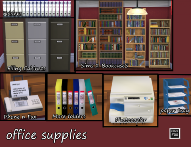 Office Supplies by CrackFox