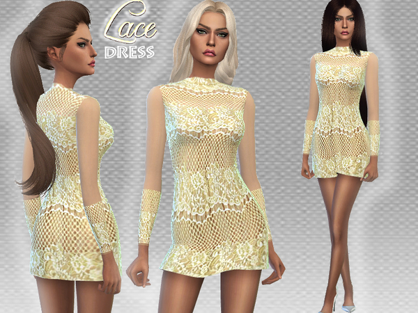 Lace dress by Puresim