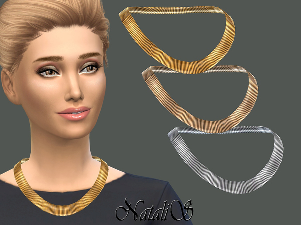 NataliS_Flat Chain Necklace