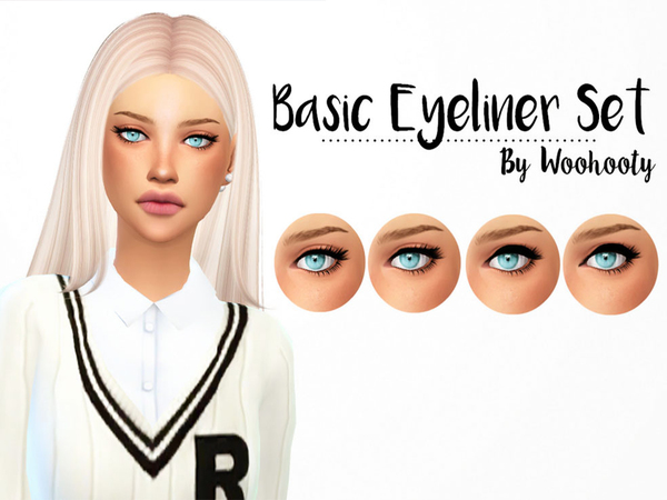 Simple Eyeliner Set by parisasia