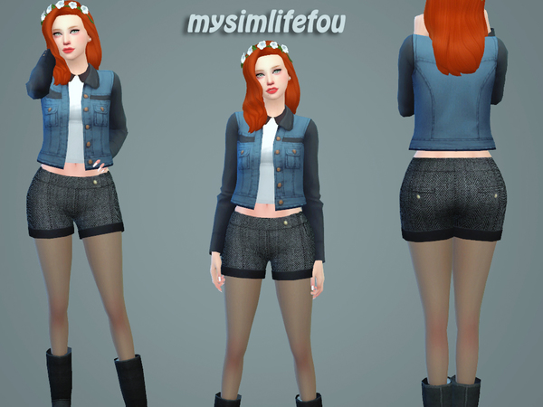 Winter Warm Shorts by mysimlifefou