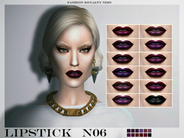 Lipstick N06 by FashionRoyaltySims