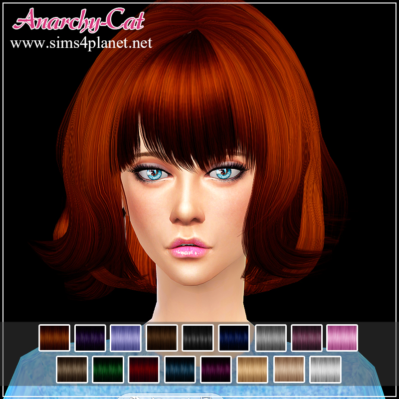 Hair Retexture #2 by Anarchy-Cat