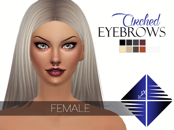 Arched Eyebrows [Female] by LSX
