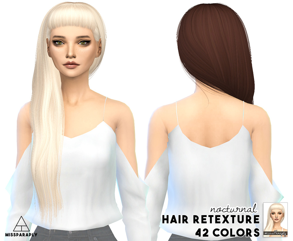 Alesso Anto Nocturnal Hair Retexture by MissParaply