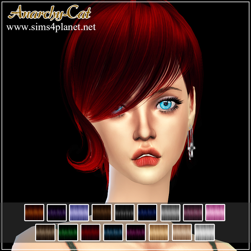 NewSea Twiggy Hair for Females by Anarchy-Cat