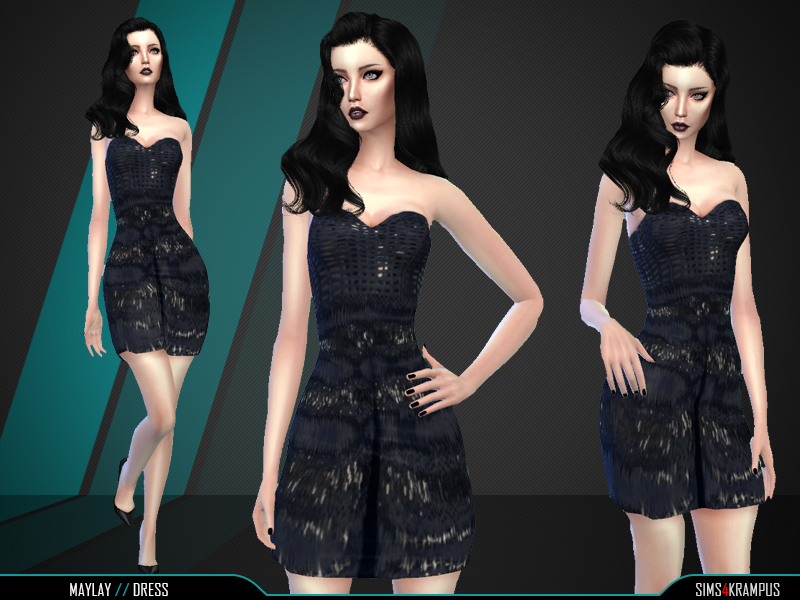 Maylay Dress BY SIms4Krampus