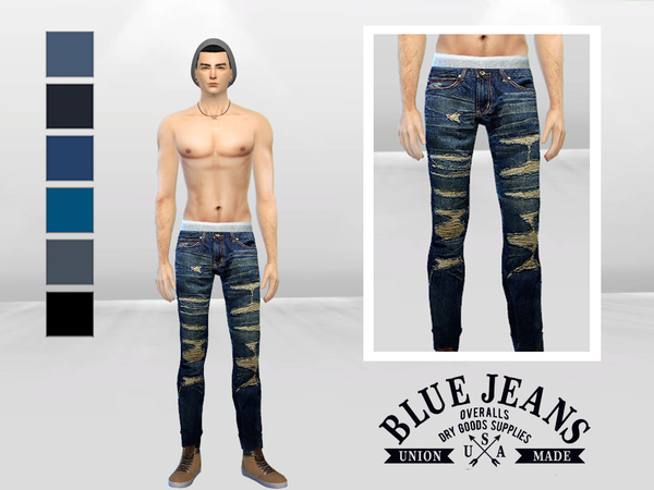 Save The King Ripped Skinny Jeans by McLayneSims