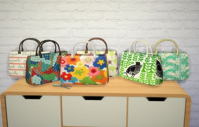 Decorative Handbag Recolors by Budgie2budgie