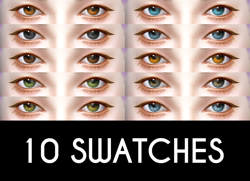 Dreamer Eyes in 10 Colors by LittleBigShortie