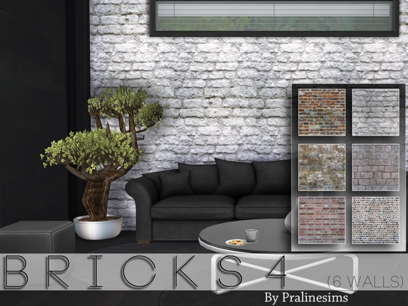 Bricks 4  BY Pralinesims