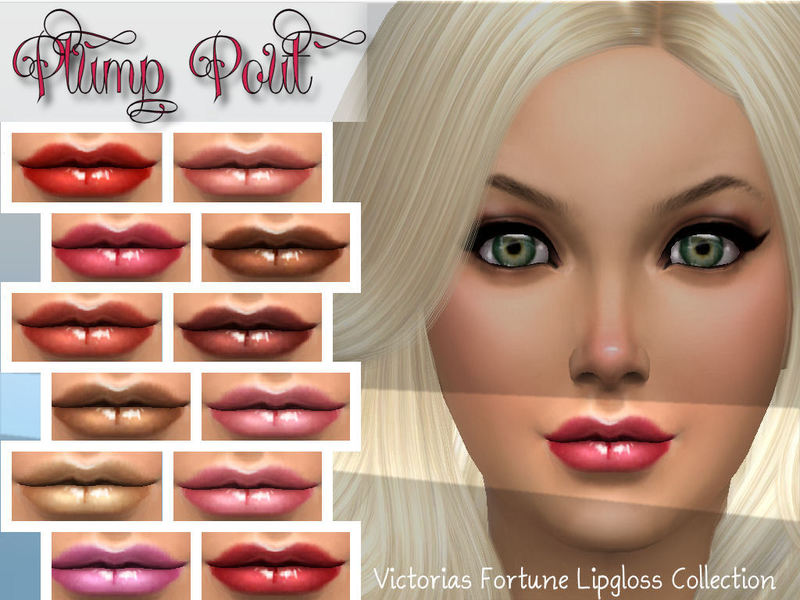 Victoria's Fortune Plump Pout Lipgloss  BY fortunecookie1