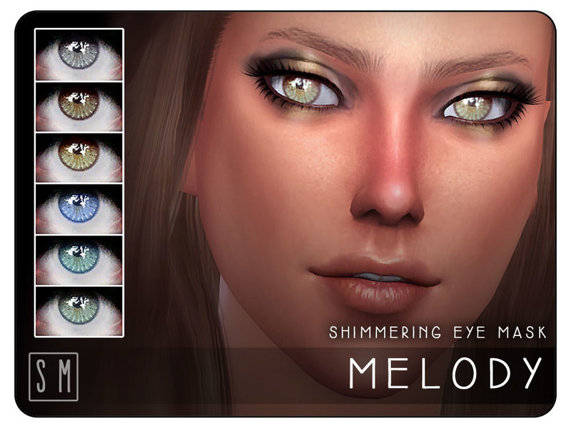 [ Melody ] - Shimmering Eye Mask BY Screaming Mustard