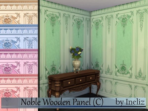 Noble Wooden Panel (C) by Ineliz