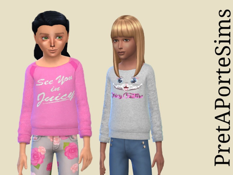 Sweaters for girls BY PretAPorteSims
