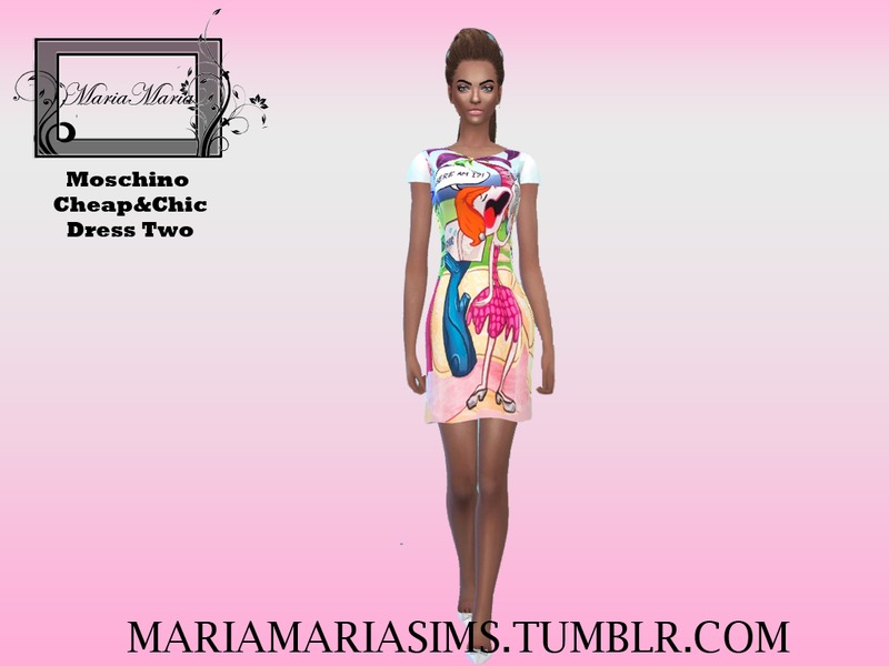 Moschino Cheap&Chic Dress Two  BY MariaMariaSims