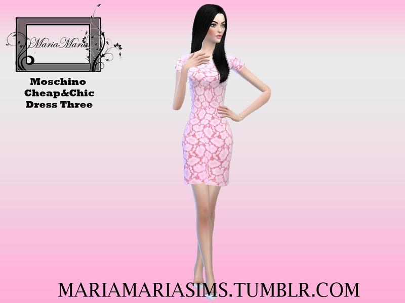 Moschino Cheap&Chic Dress Three BY MariaMariaSims
