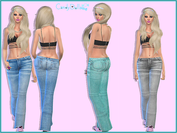 Candy Doll Sweet Jeans by DivaDelic06