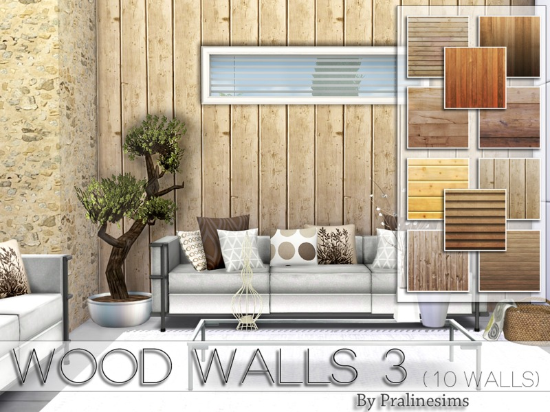 Wood Walls 3  BY Pralinesims