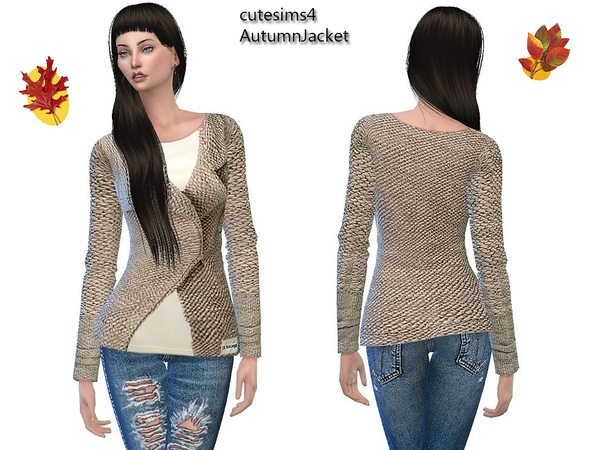 AutumnJacket_beige by sweetsims4