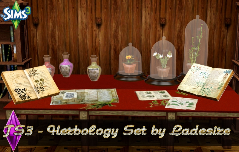 Herbology Set by Ladesire