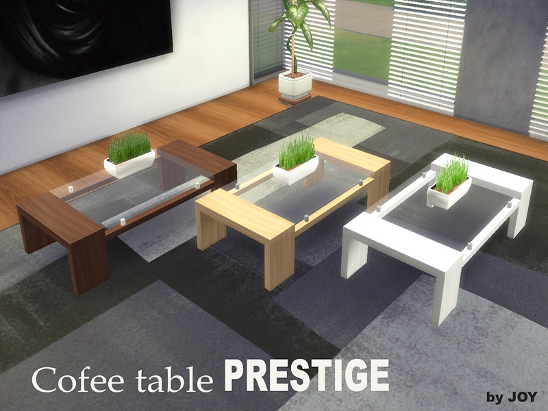 Cofee table PRESTIGE BY Joy