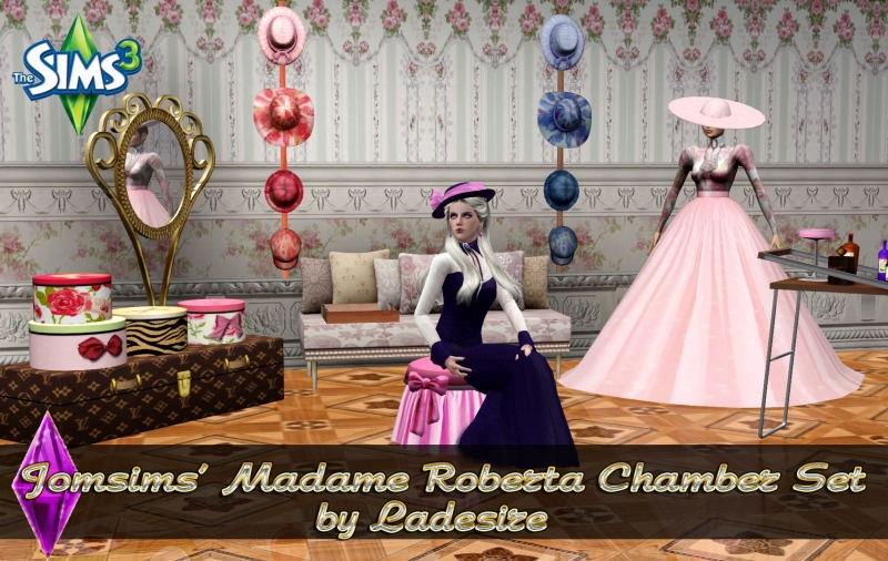 Jomsims' Madame Roberta Chamber by Ladesire