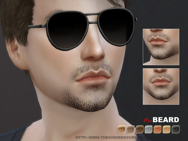 S-Club WM thesims4 Beard 01