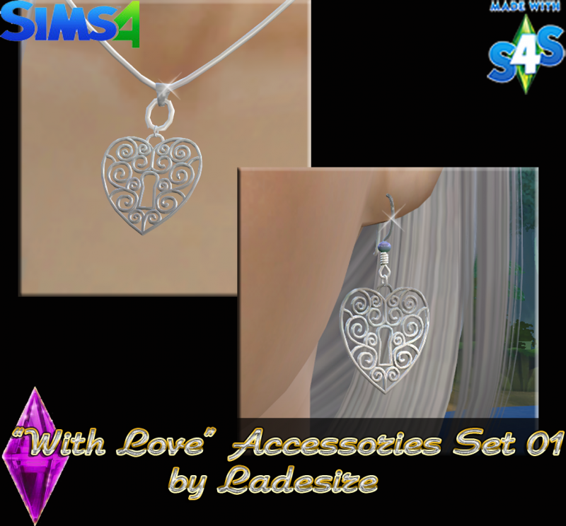 """With Love"" Accessories Set 01 by Ladesire"