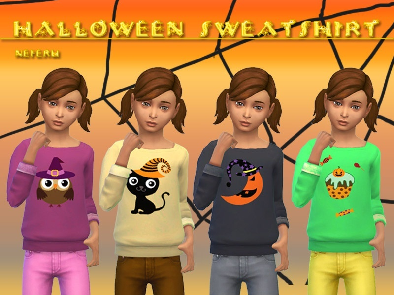 Halloween Sweatshirt  BY Neferu
