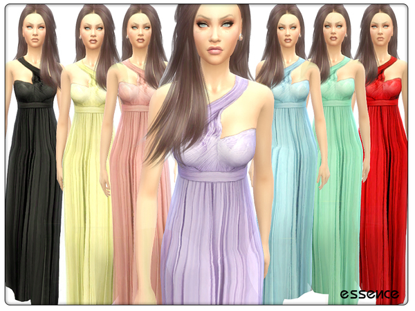 Tulle Maxi Dress by simseviyo
