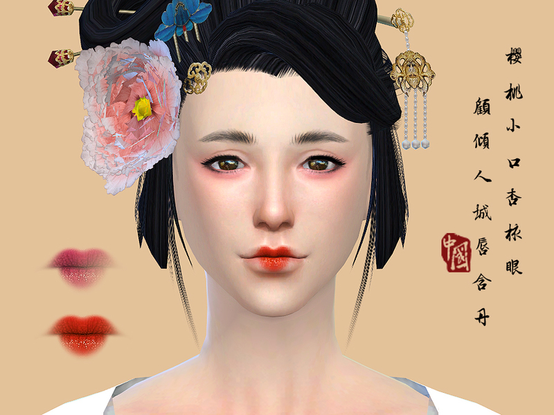 S-Club WM thesims4 Lipstick 16F