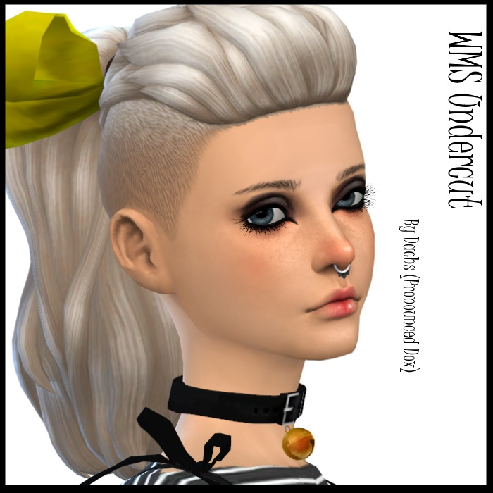 WMS Undercut Pony Retexture + Bow Edit by Dachs