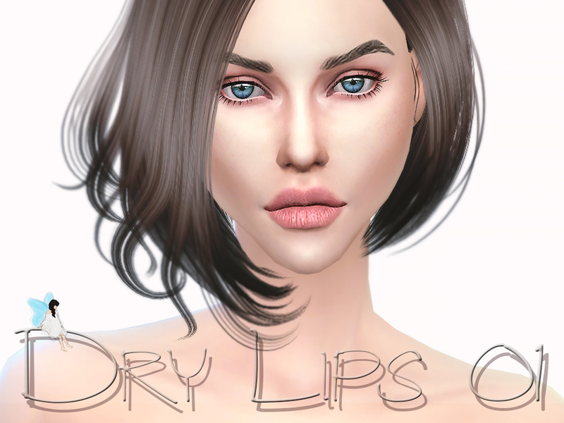 Dry Lips 01  BY Ms Blue