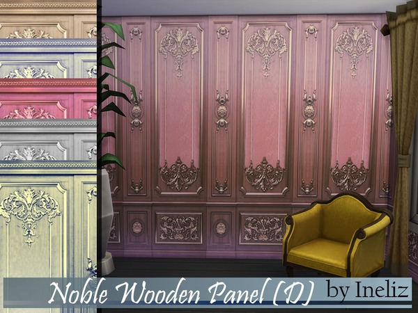 Noble Wooden Panel (D) by Ineliz