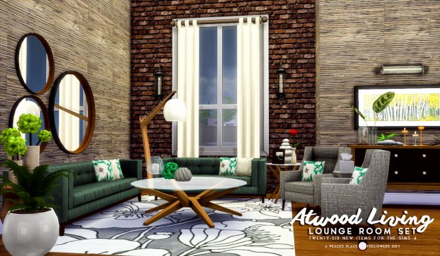 Atwood Living - Lounge Room Set by Peacemaker ic
