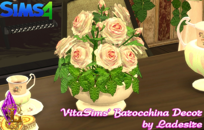 VitaSims' Barocchina Decor by Ladesire