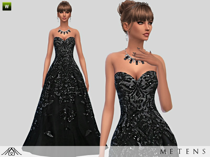 Black Swan - Gown  BY Metens