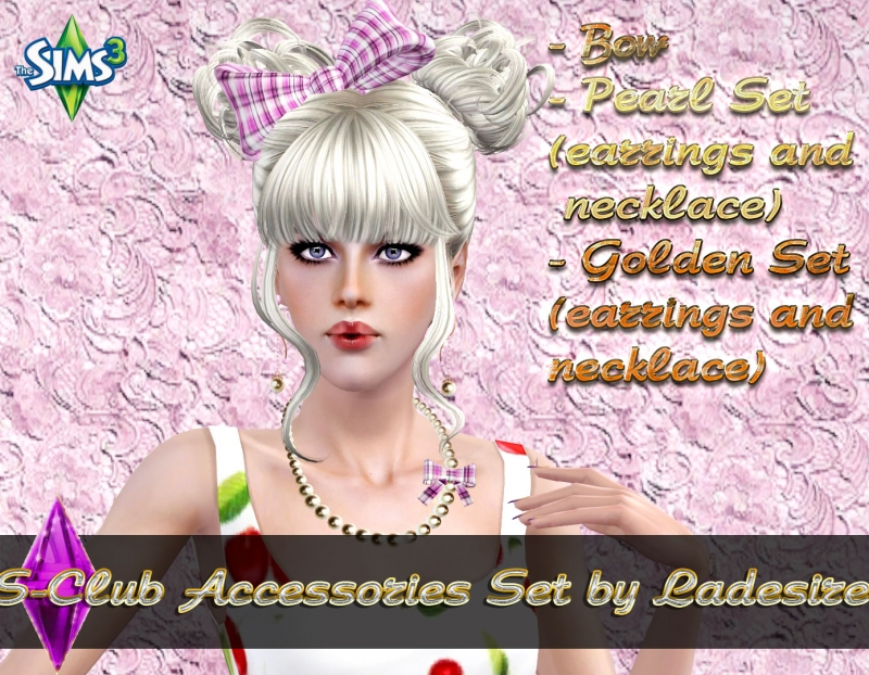 S-Club Set Accessories by Ladesire