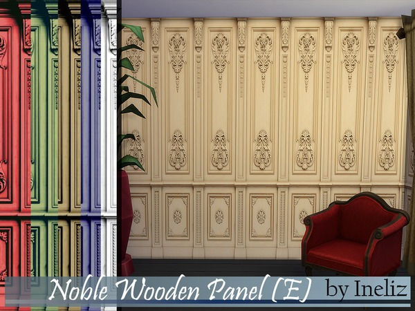 Noble Wooden Panel (E) by Ineliz