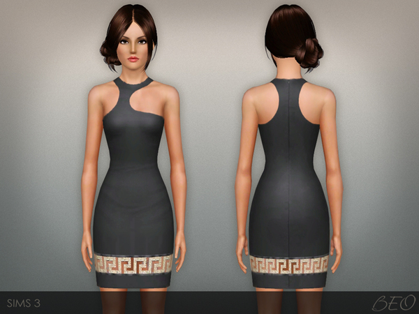 Greca mini dress by BEO