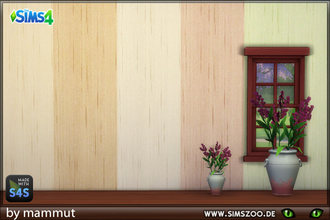 TEXTILE WALL 1 BY MAMMUT  By BLACKYS SIMS ZOO
