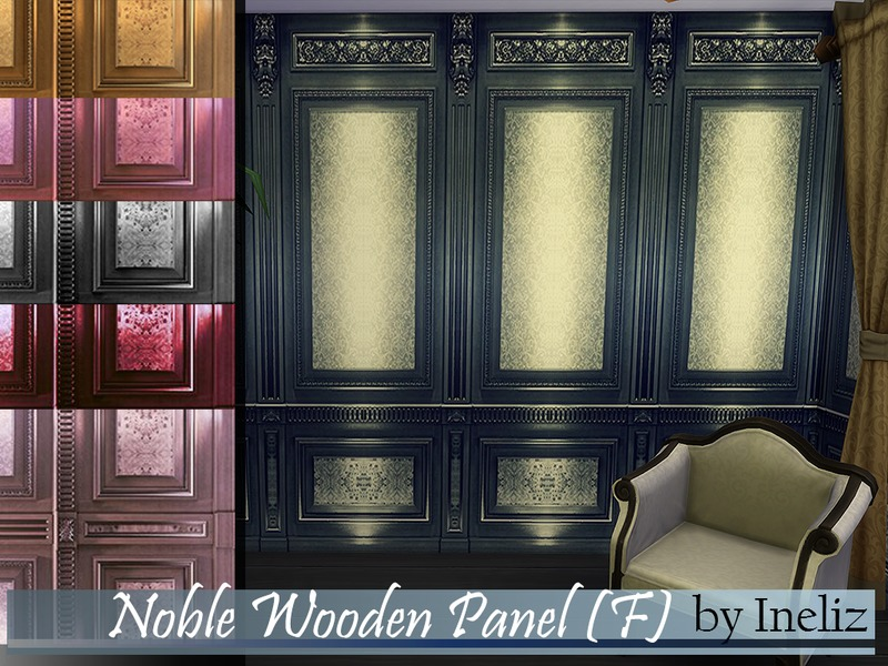 Noble Wooden Panel (F) BY Ineliz