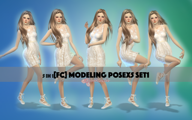 MODELING POSE X5 by flowerchamber