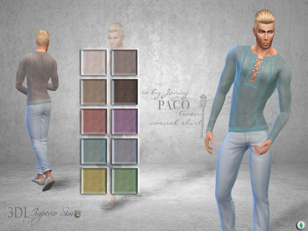 3DL Imperio Sim- iO by Jancy -Paco Sweater by eddielle